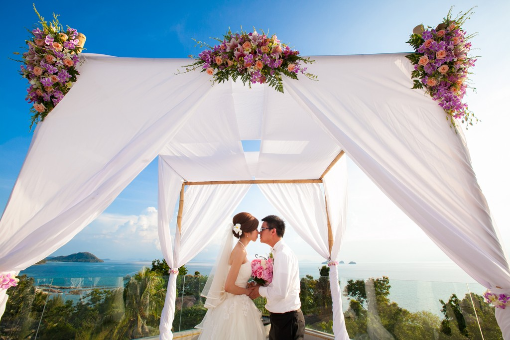Koh Samui Wedding at Intercontinental