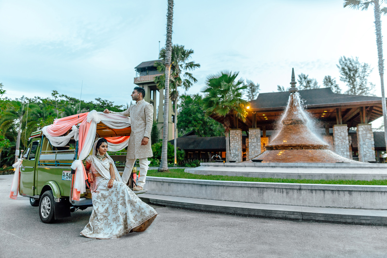 Indian wedding Thailand